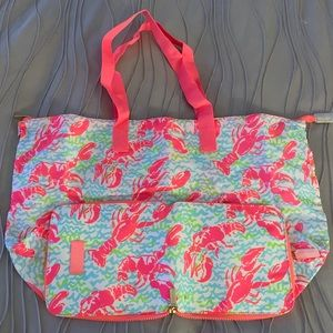 Lilly Pulitzer packable tote